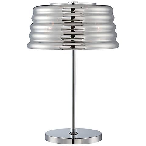 Lite Source Venice 3-Light Chrome Table Lamp