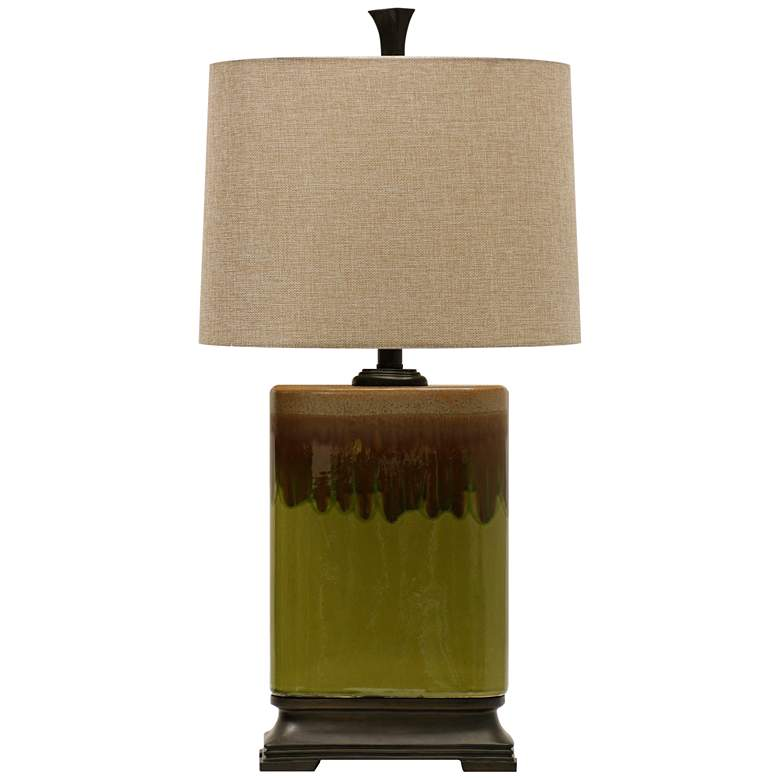 Richton Alton Moss Green Table Lamp