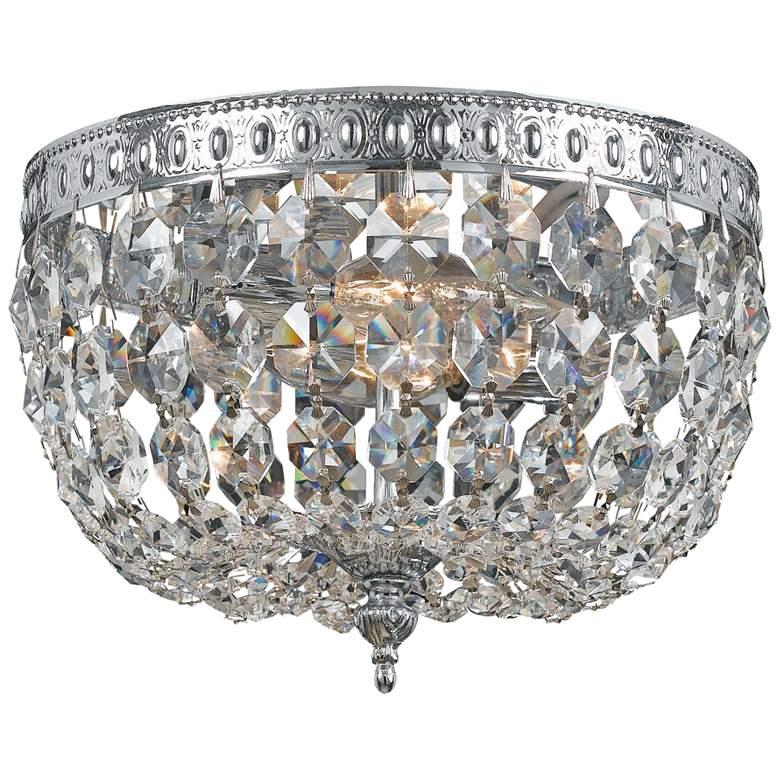 "Crystorama Richmond 8"" Wide Crystal Ceiling Light"