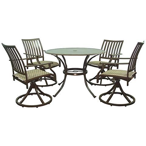 Panama Jack Island Breeze 5-Piece Outdoor Patio Dining Set