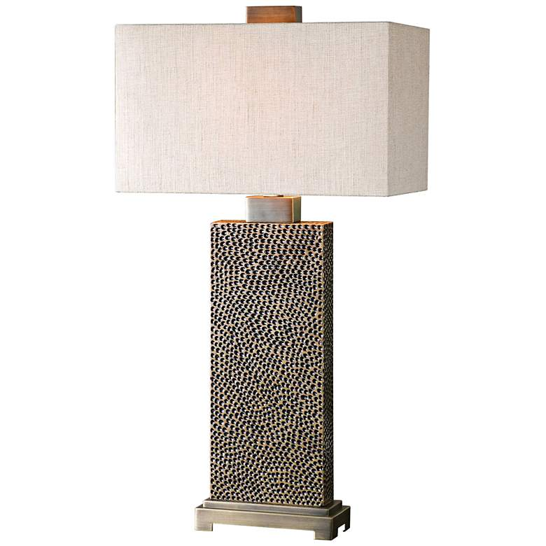 Uttermost Canfield Coffee Bronze Table Lamp 7n171