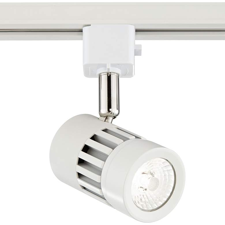 Leland White LED Grooved Track Head for Juno Track Systems