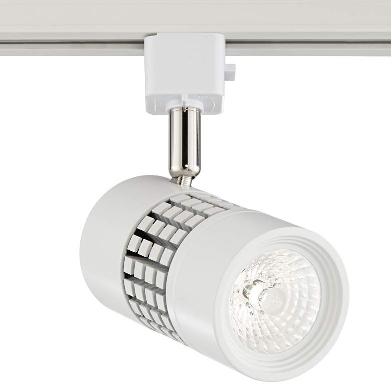 Klemm White LED Grid Track Head for Juno Track Systems