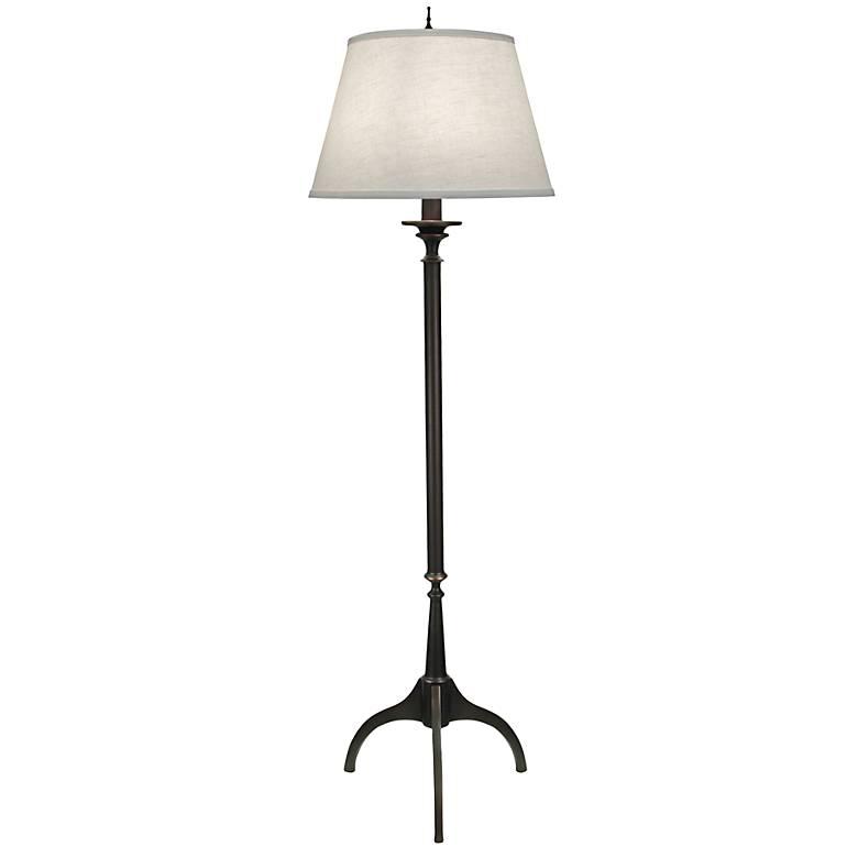 Wittrock Tripod Oxidized Bronze Floor Lamp