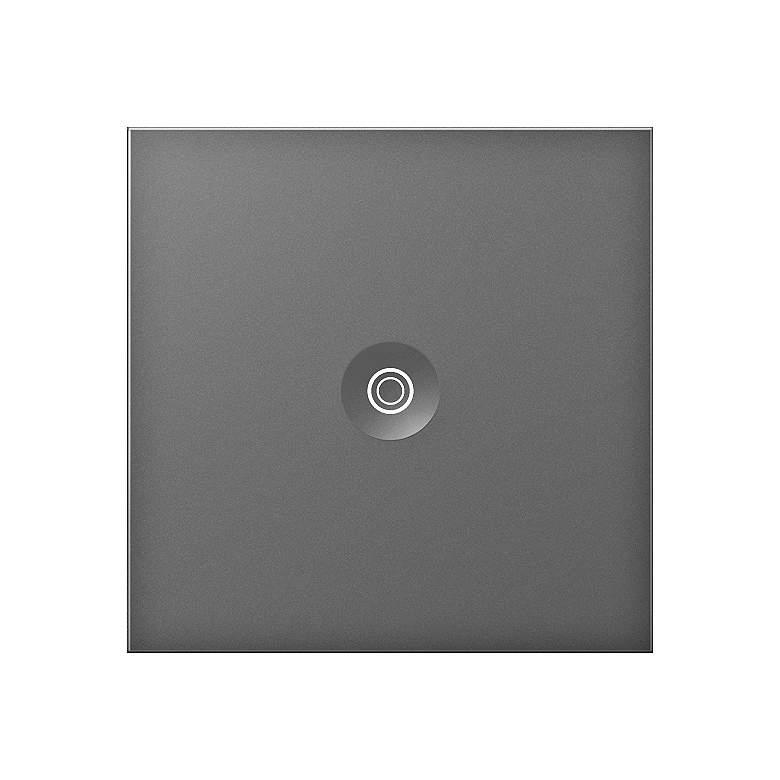 adorne® 15A Magnesium Single-Pole 3-Way Push Switch