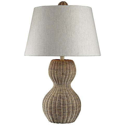 Dimond Sycamore Hill Rattan Table Lamp