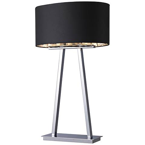 Central Park Empire Chrome 2-Light Table Lamp