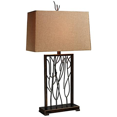Dimond Belvior Park Aria Bronze Modern Table Lamp
