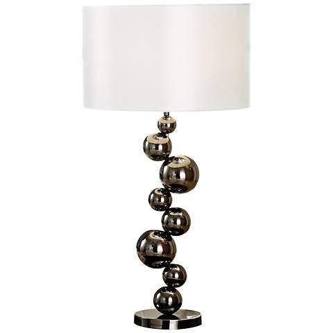 Dimond Cleona Black Nickel Table Lamp