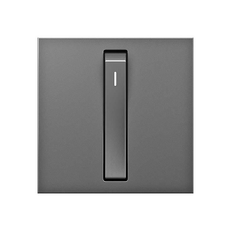 adorne® 15A Magnesium Single-Pole Whisper Switch
