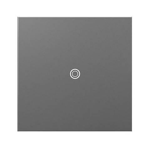 adorne® SofTap 15A Magnesium Single-Pole 3-Way Switch