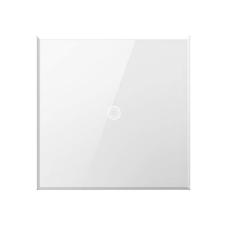 adorne® White Glass 15A iTouch Light Switch