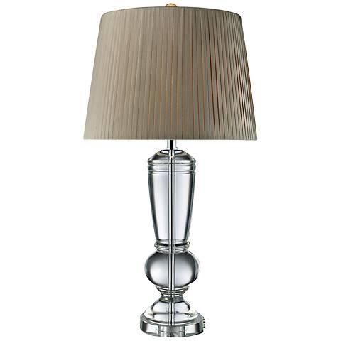 Dimond Castlebridge Solid Crystal Table Lamp