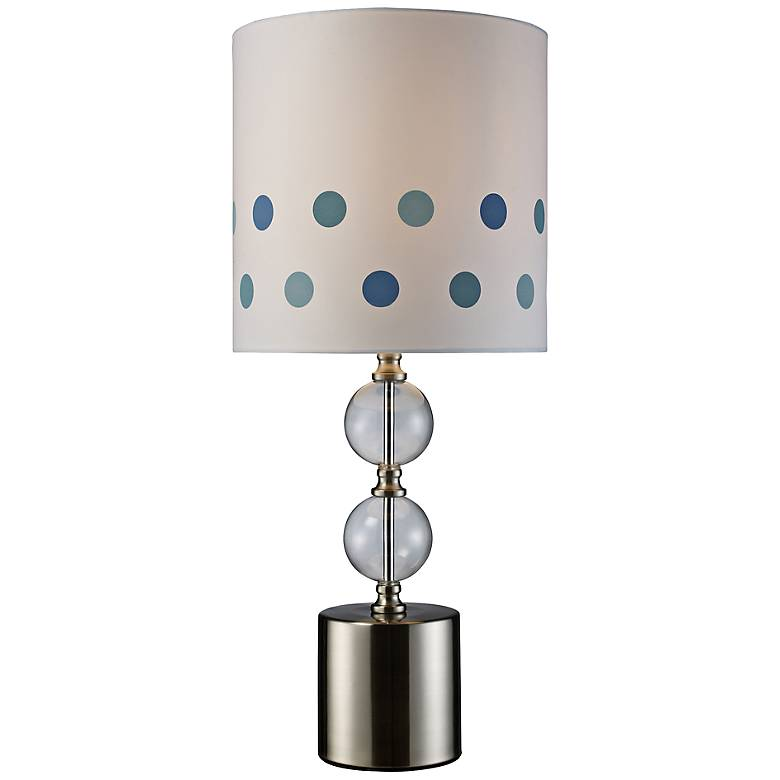 Fairfield Satin Nickel Table Lamp