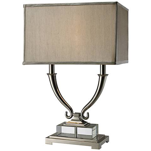 Dimond Roberts Clear Solid Crystal Table Lamp