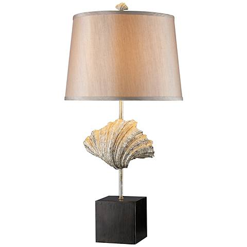 Dimond Edgewater Dark Bronze Oyster Shell Table Lamp