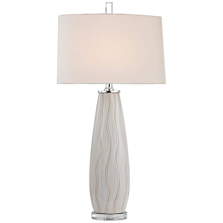 Andover White Ceramic Table Lamp