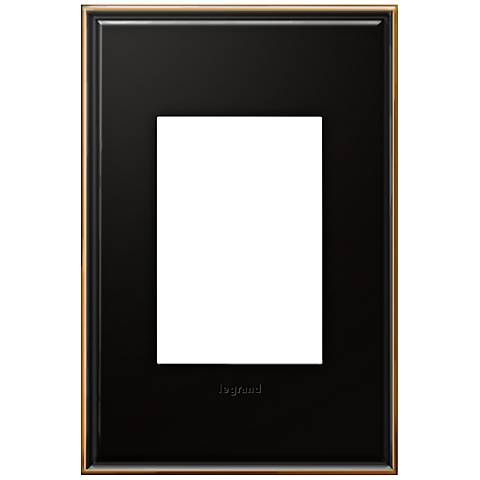 adorne® 1-Gang 3-Module Oil-Rubbed Bronze Wall Plate