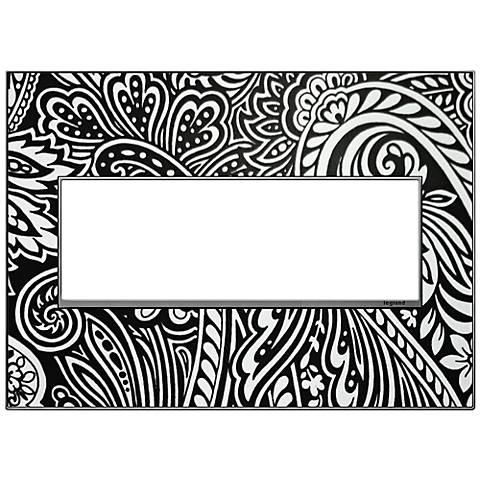adorne® Magnesium Trim 3-Gang Customizable Wall Plate