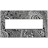adorne® Magnesium Trim 4-Gang Customizable Wall Plate