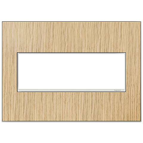 adorne® 3-Gang French Oak Wall Plate