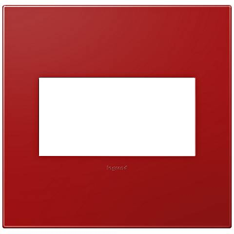 adorne® Cherry 2-Gang Snap-On Wall Plate