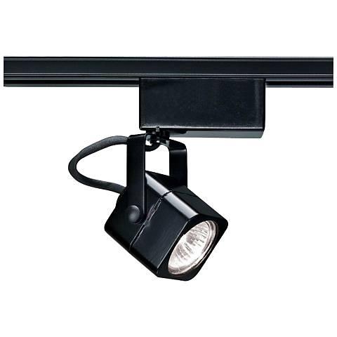 Nuvo Lighting 12V Black MR16 Square Track Light Head