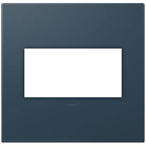 adorne® Soft Touch Felt Green 2-Gang Wall Plate