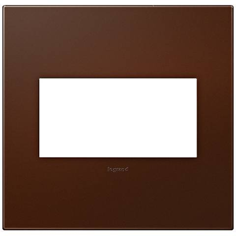 adorne® Soft Touch Russet 2-Gang Wall Plate