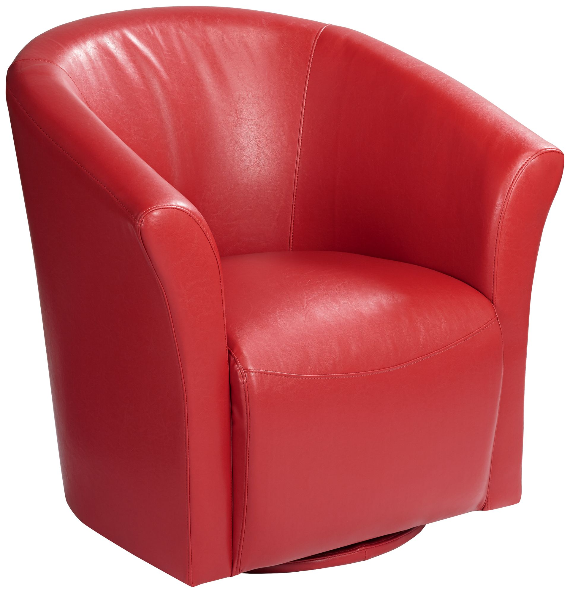 Charmant Elements Rocket Rivera Red Swivel Accent Chair