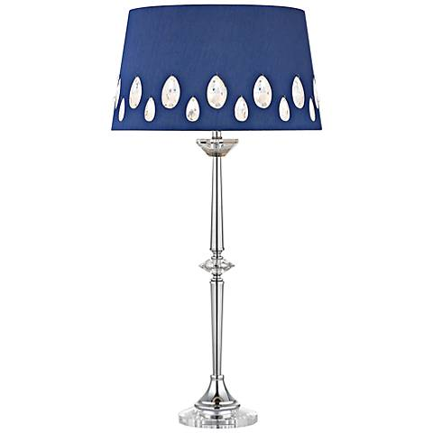 Dimond Telford Chrome with Crystal Accent Table Lamp
