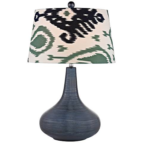 Dimond Penarth Navy Blue Ceramic Table Lamp