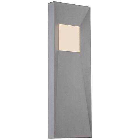 "WAC Infiniti 20"" High Graphite LED Outdoor Wall Light"