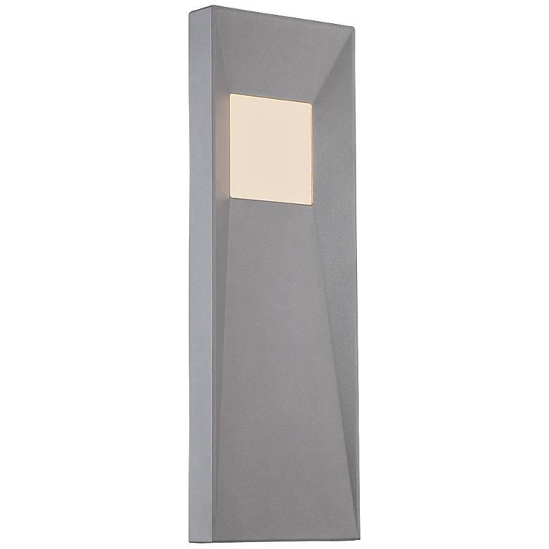"WAC Infiniti 20"" High Graphite LED Outdoor Wall Light"