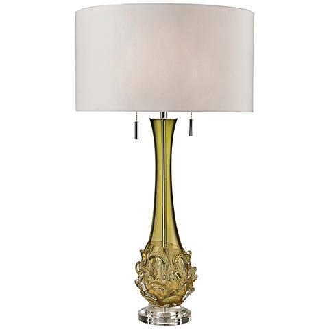 Dimond Vignola Green Free Blown Glass Table Lamp
