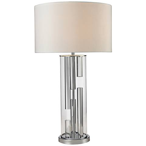Castello Clear Glass Table Lamp