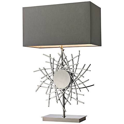 Dimond Cesano Abstract Metalwork Table Lamp