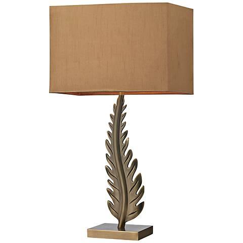 Dimond Oak Cliff Brass Table Lamp