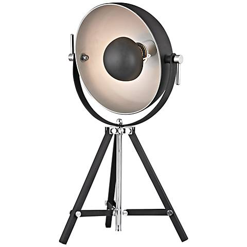 Dimond Backstage Black and Nickel Tripod Desk Lamp