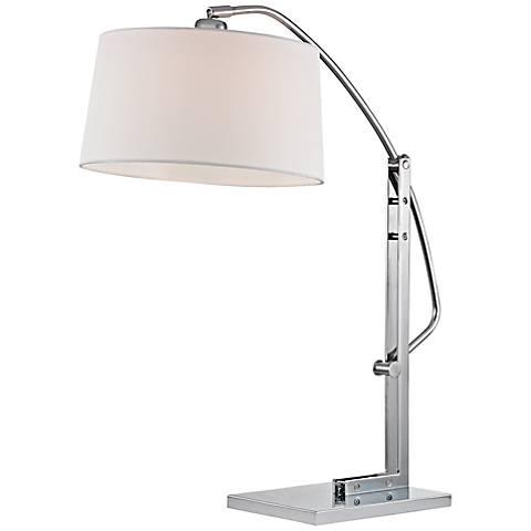 Dimond Assissi Polished Nickel Adjustable Desk Lamp