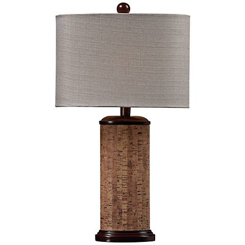 Dimond Brown Natural Cork Table Lamp