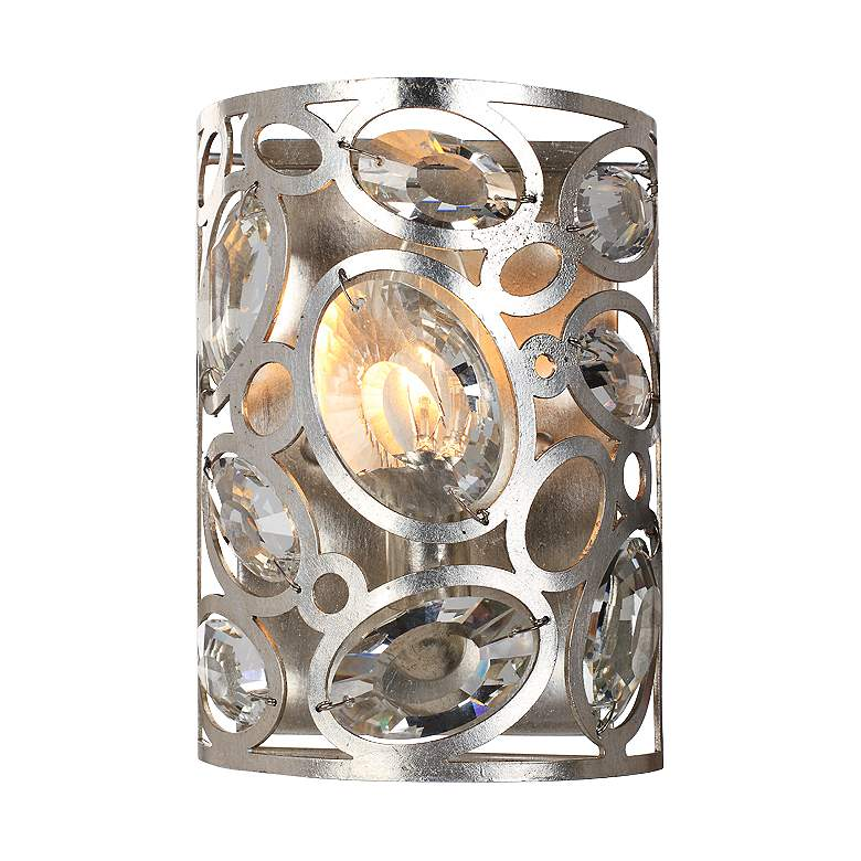 """Crystorama Sterling 8 1/4"""" High Twilight Wall Sconce"""