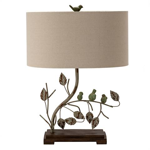 Crestview Collection Ella Antique Tree Branch Table Lamp