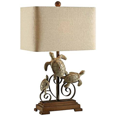 Crestview collection turtle bay table lamp 7t464 lamps plus aloadofball Choice Image