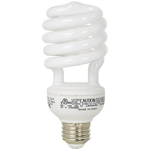 23 Watt Daylight 6500K CFL Twist ENERGY STAR® Light Bulb
