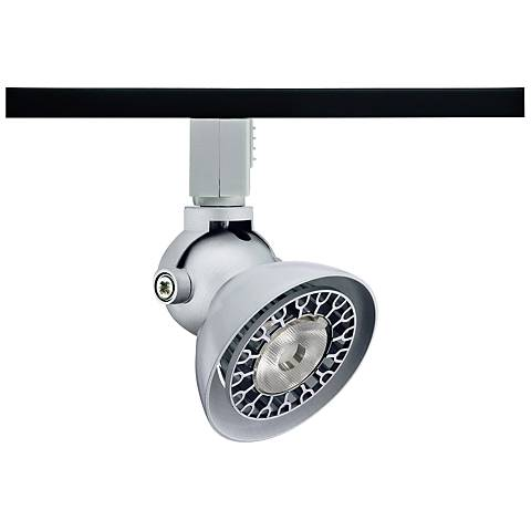 Juno line voltage 120v track lighting lamps plus juno trac 12 lily 16 silver low voltage aloadofball Choice Image