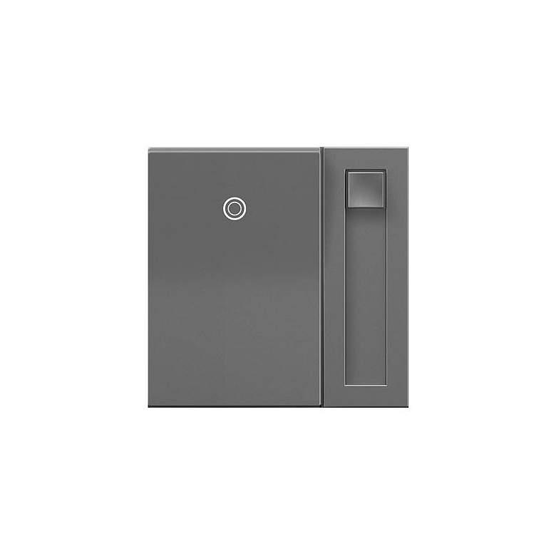 adorne® Magnesium 450Watt CFL/LED/Incandescent Paddle Dimmer
