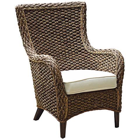 Panama Jack Sanibel Cushioned Rattan Lounge Chair