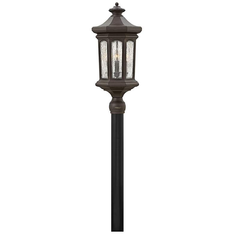 "Hinkley Raley 26 1/4""H Oil-Rubbed Bronze Outdoor Post"