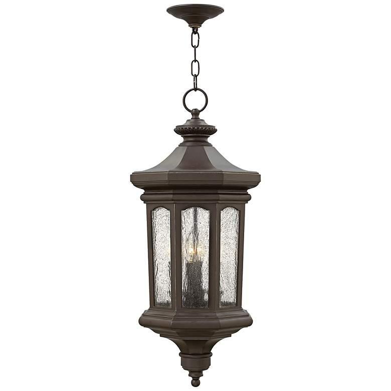 """Hinkley Raley 27 1/2""""H Bronze Outdoor Hanging Lantern"""